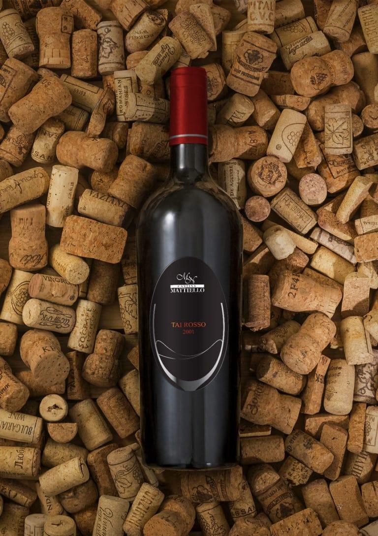 etichetta bottiglia di vino Mattiello