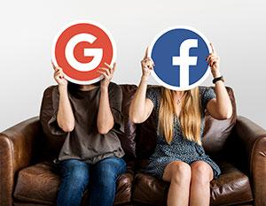 pubblicità online google ads social ads
